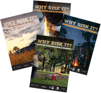 Why risk it? Posters
