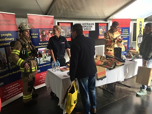 MFS image - Holden career day