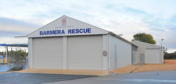 SA State Emergency Service Barmera Rescue Unit building
