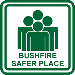Bushfire Safer Place Icon