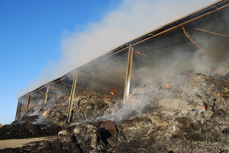 CFS - Hayshed Fire