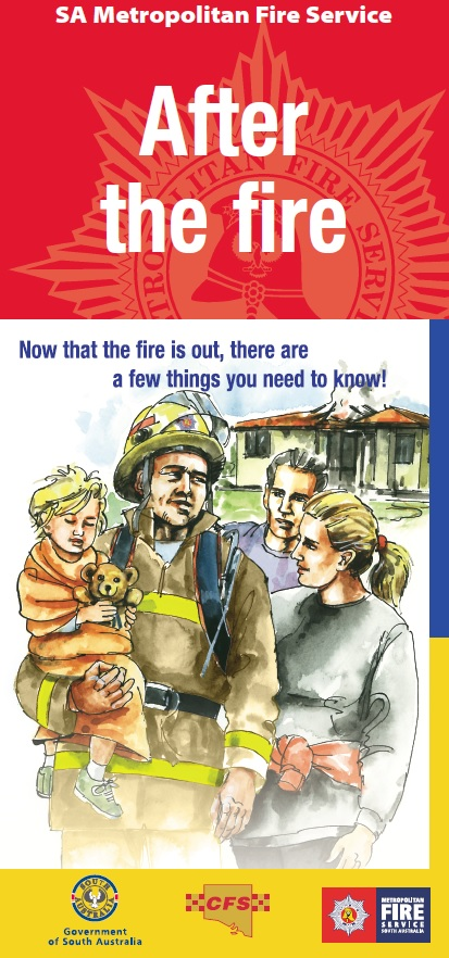MFS Graphic - After the Fire Brochure Image