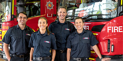 Find out more about our firefighters.