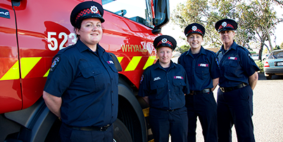 Not in a metro area, but still want to be a part of the MFS? Then becoming a retained firefighter may be for you.