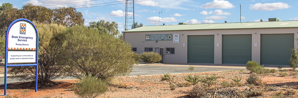 SA State Emergency Service Roxby Downs Unit building