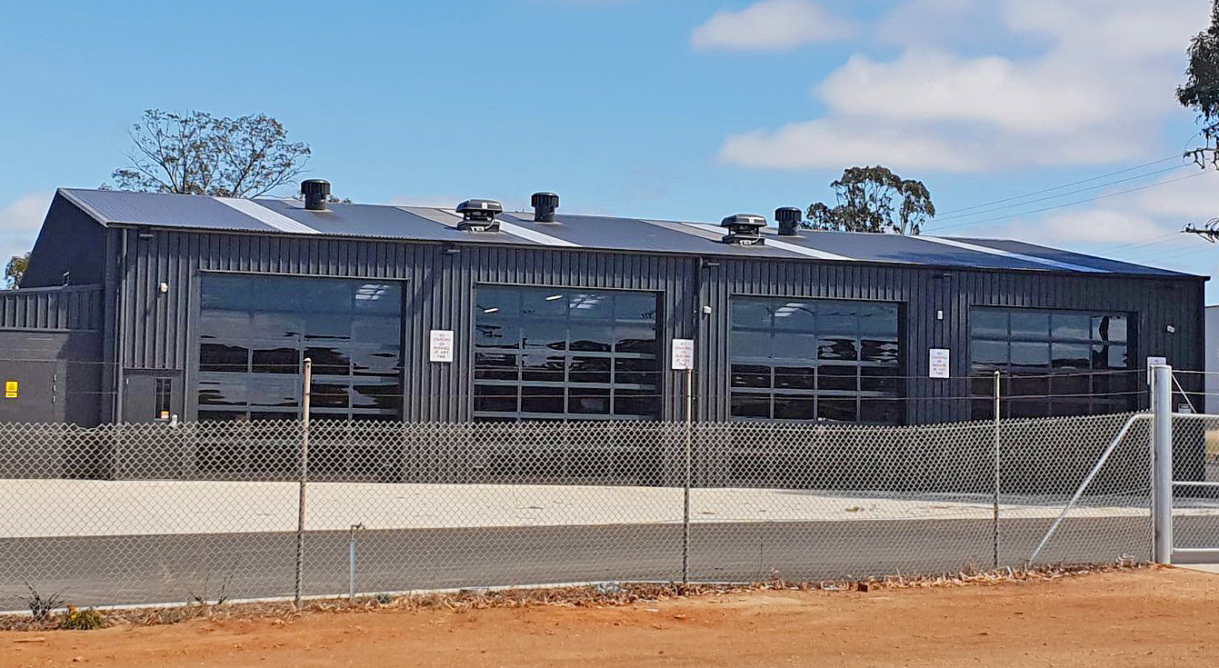 SA State Emergency Service Loxton Unit building