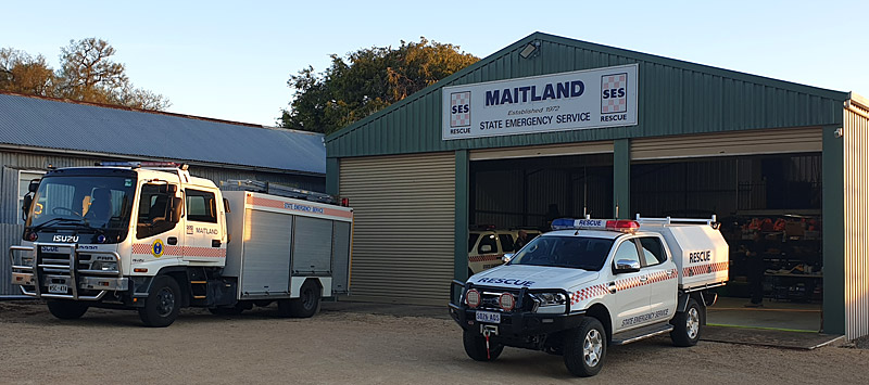 SA State Emergency Service Maitland Unit building