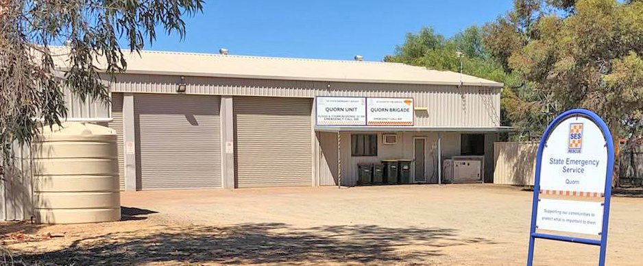 SA State Emergency Service Quorn Unit building