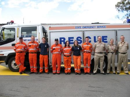 Mount Barker truck and members