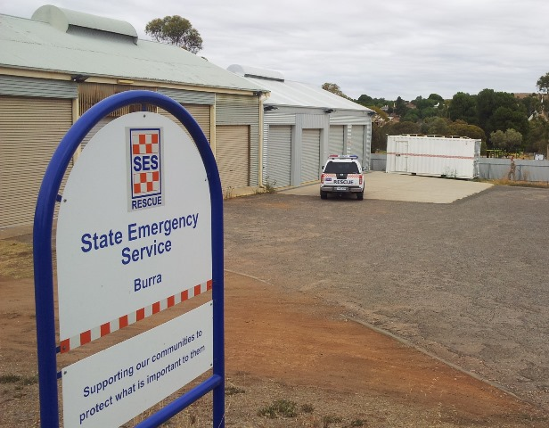 Burra SES Unit, located on Smelts Road