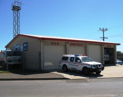A bit of history - Old SES Kangaroo island unit, located on Telegraph Road, Kingscote, co-located with CFS.