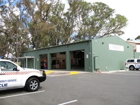 SES Unit Mount Barker, taken on it's official opening day 9 November 2013