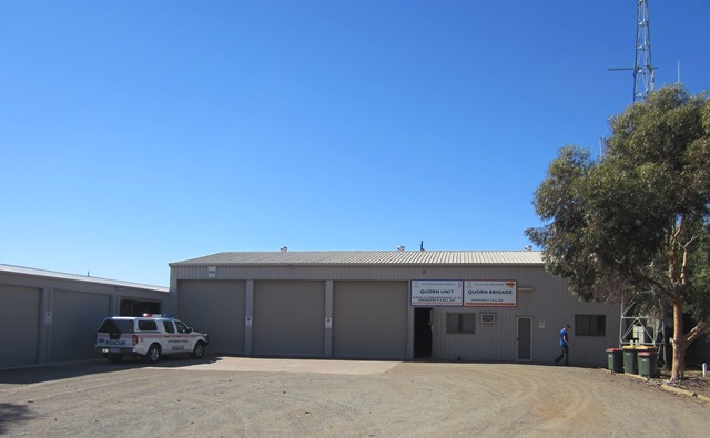Quorn SES Unit, Flinders Gulf district, located on Silo Road, Quorn, SA, 543