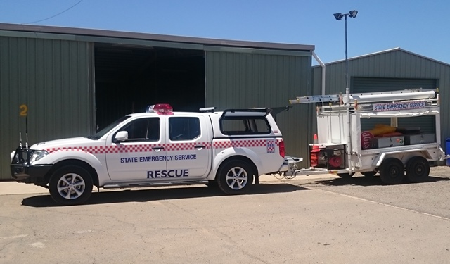 BERRI 41 - Primary General Rescue Vehicle.  Make: Nissan, Model: Navara, Registration: S839AQB, Built/Date in Service: 2014,
